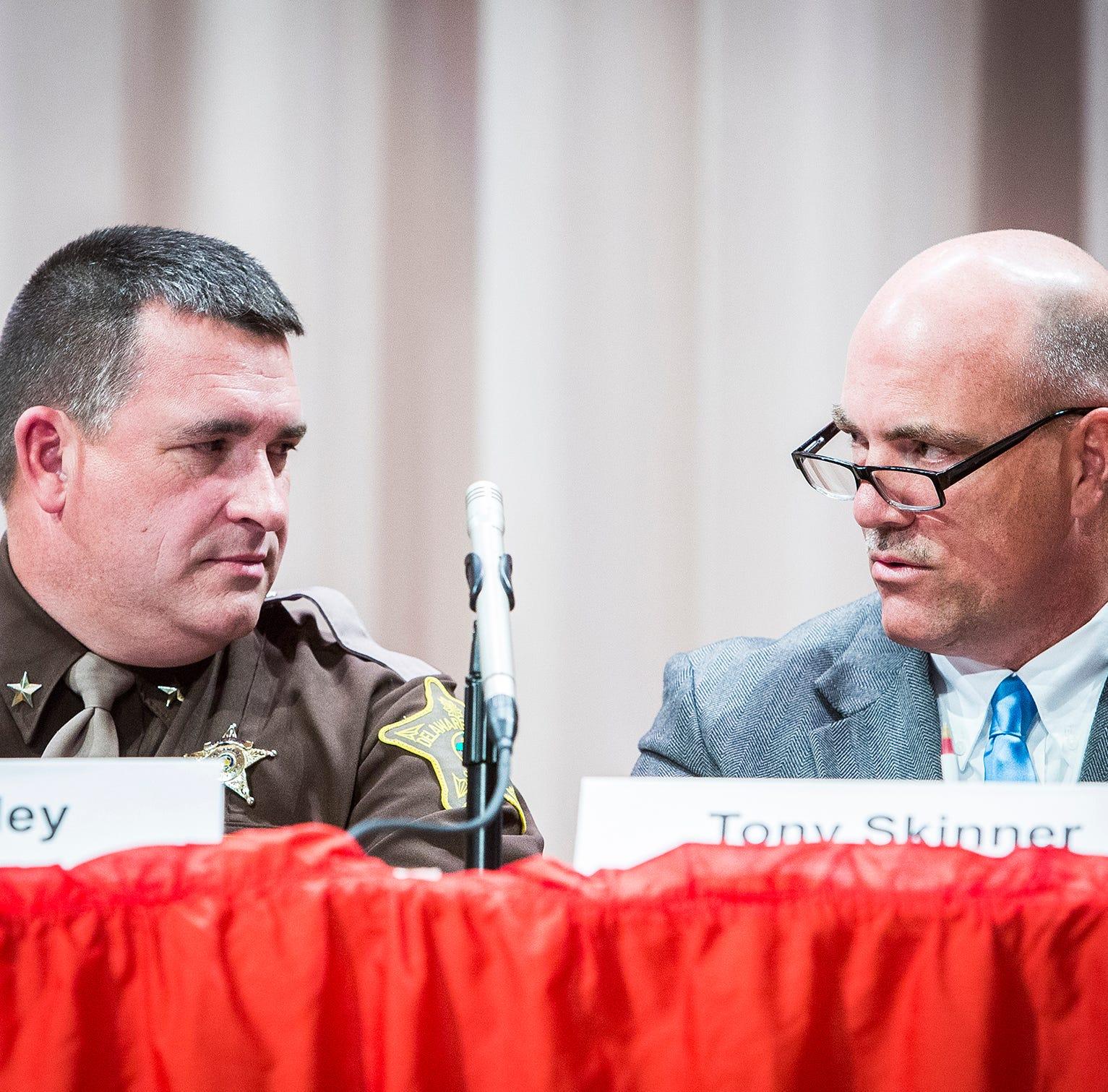 Delaware County sheriff candidates debate new jail plan