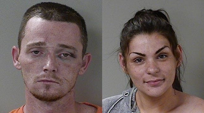 Justin Arwood was arrested Wednesday, Oct. 17, 2018, on charges of driving on a revoked license, reckless driving, felony evading arrest and aggravated assault. Sarah Dalton was arrested on Wednesday, Oct. 17, 2018, on an outstanding misdemeanor warrant for violation of probation