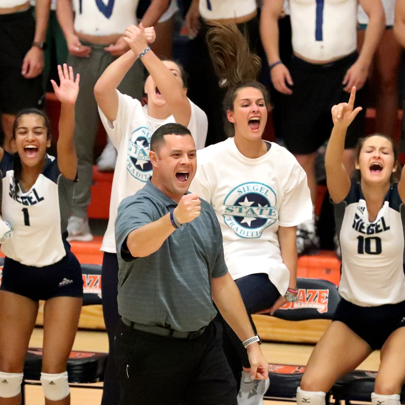 Siegel volleyball headed to state championship match for first time