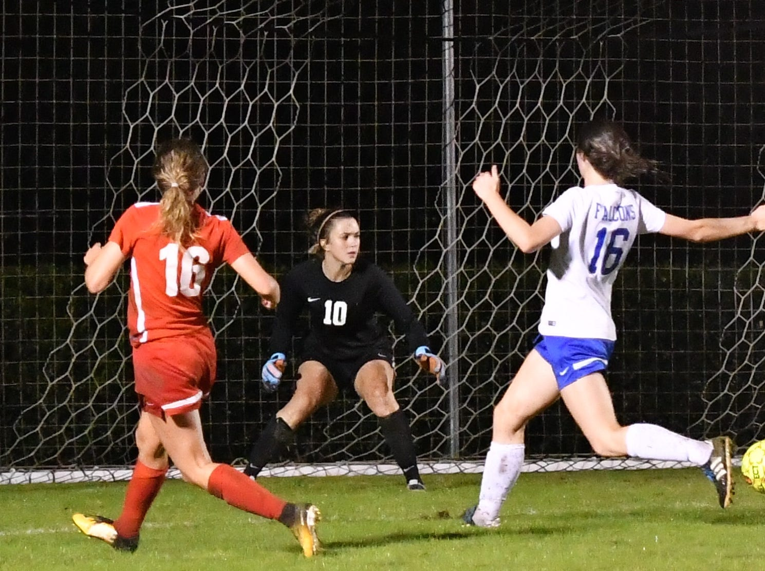 Lincoln County at Oakland. Region 4-AAA semifinals. Tuesday, Oct. 16, 2018.