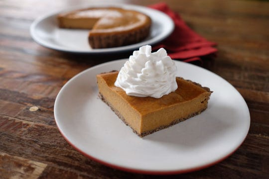 Squash pie from True Food Kitchen executive chef Chris Polley