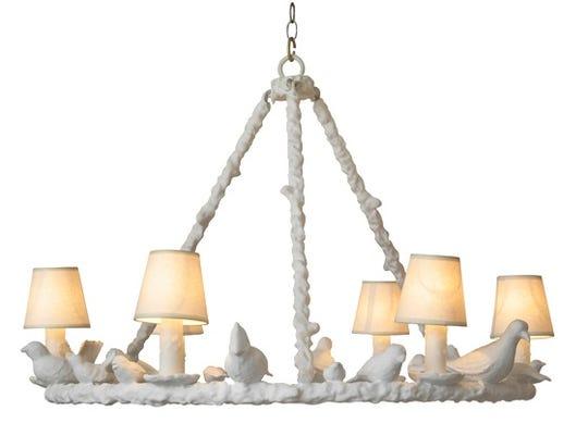 Bird chandelier by OlyStudio