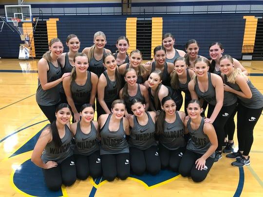 Wilson Central dance team.