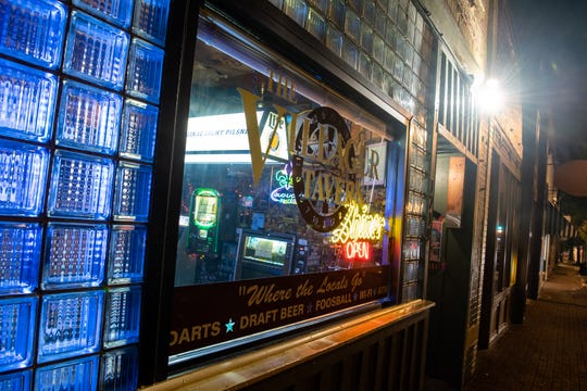 The Villager Tavern in Nashville, Tenn., Tuesday, Oct. 16, 2018.