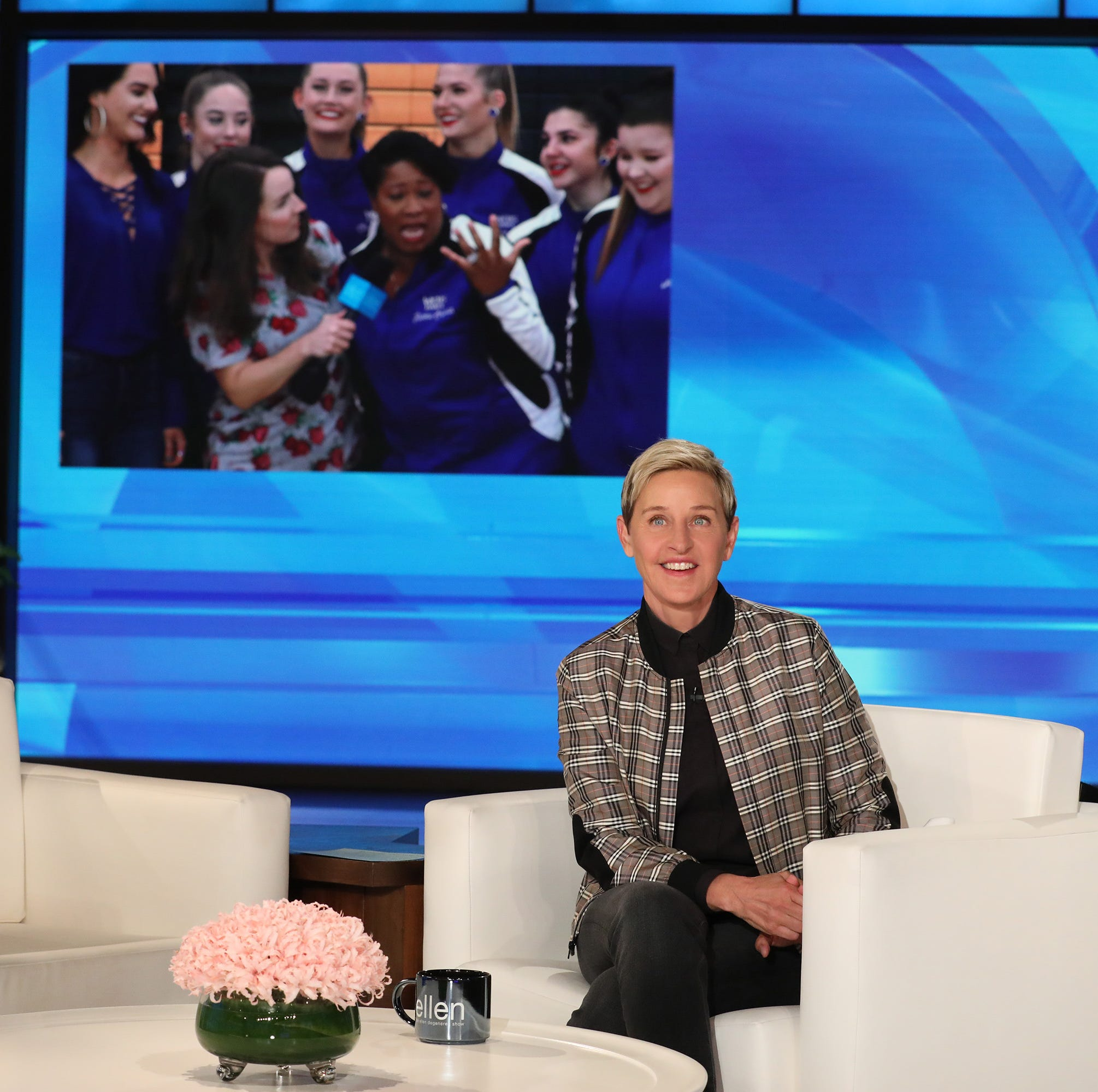 Wilson County dance team, assistant principal get Ellen DeGeneres' attention in a big way