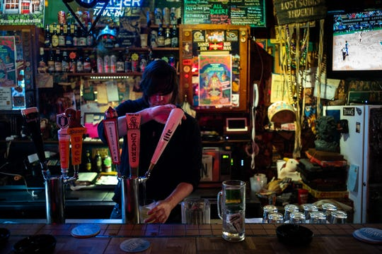The Villager Tavern is one of the few Nashville bars that allows smoking.