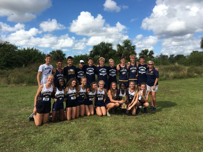 The Naples High School boys and girls cross country teams won the CCAC championship last Wednesday at Palmetto Ridge and will compete in the district meet Tuesday.