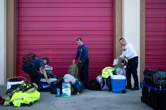0656f39312 Hurricane Michael victims get help from returning Collier first responders