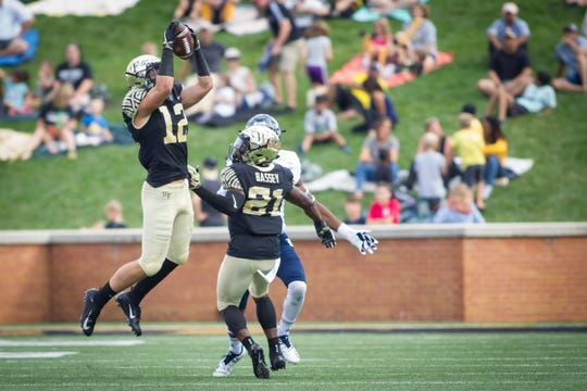 Gulf Coast alum Luke Masterson, a Wake Forest sophomore starting safety, picked off his first interception during a home rout of Rice on Sept. 29. He returned it 43 yards.