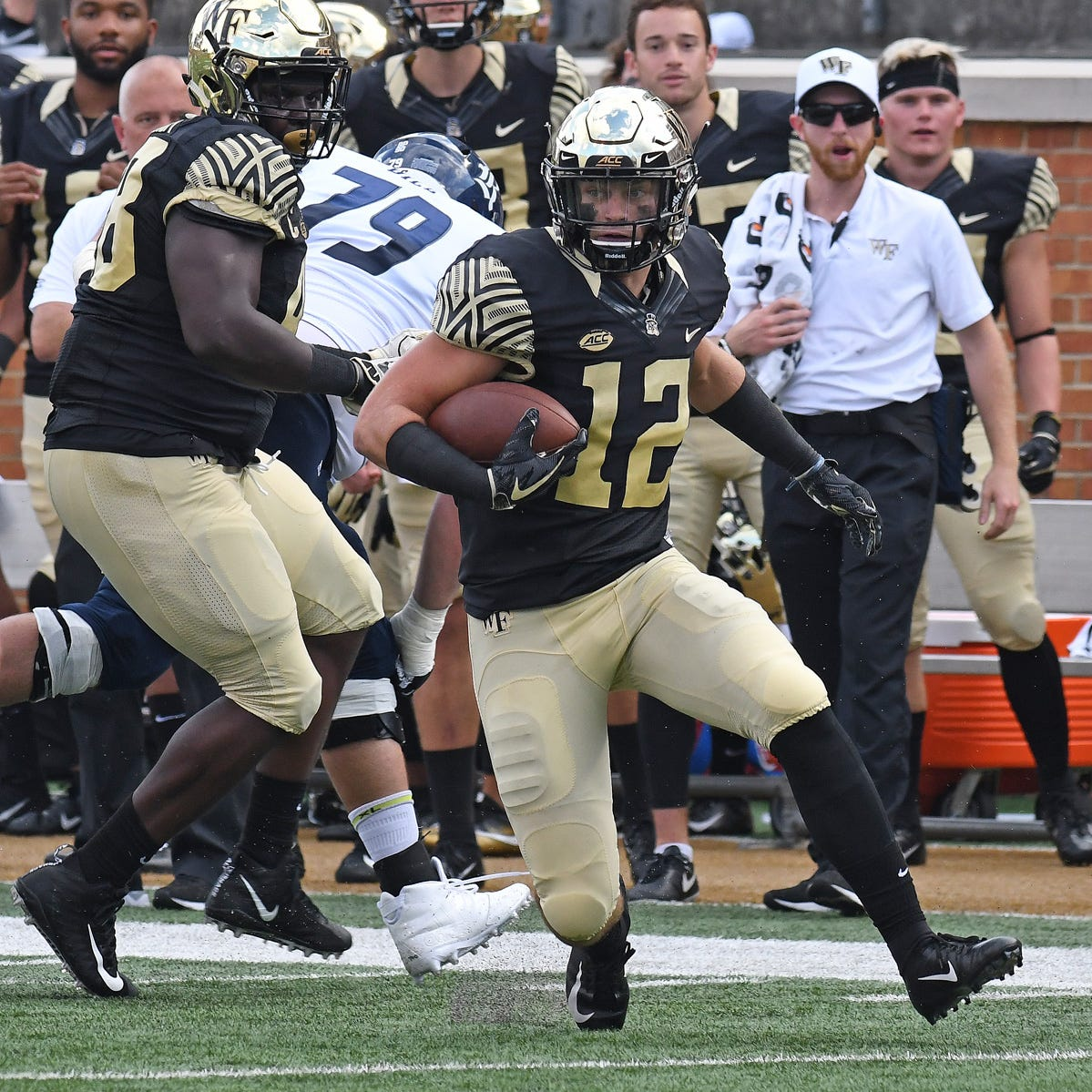 College football: Gulf Coast's Luke Masterson, starting Wake Forest safety, ready for FSU