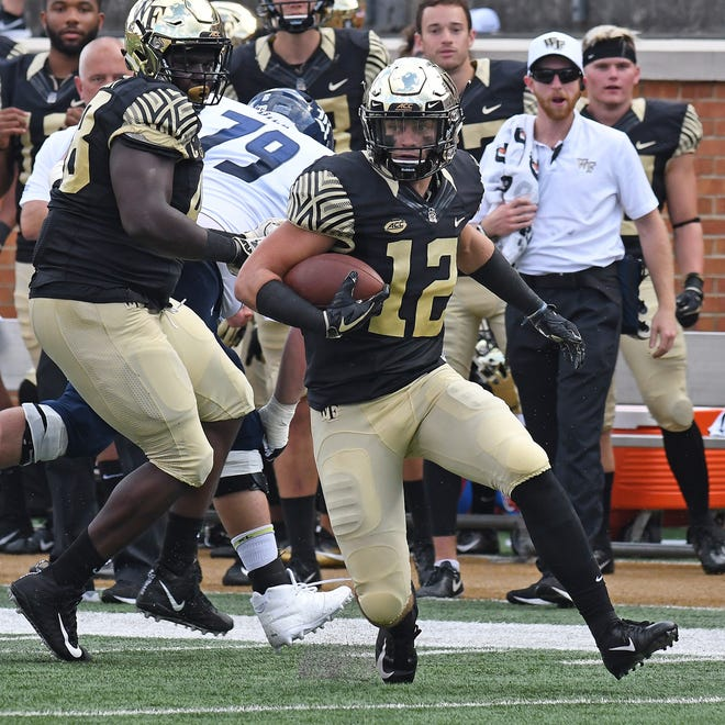 Gulf Coast grad Luke Masterson has come a long way at Wake Forest, where he's a sophomore starting safety.