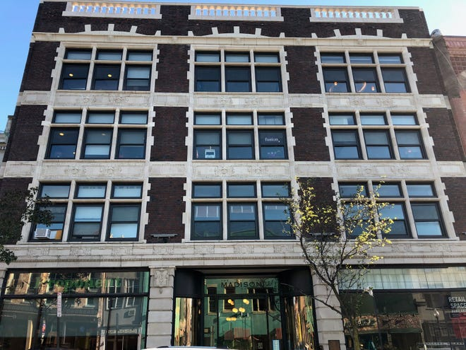 The Madison building on Bloomfield Avenue is the headquarters for Montclair Design Week.