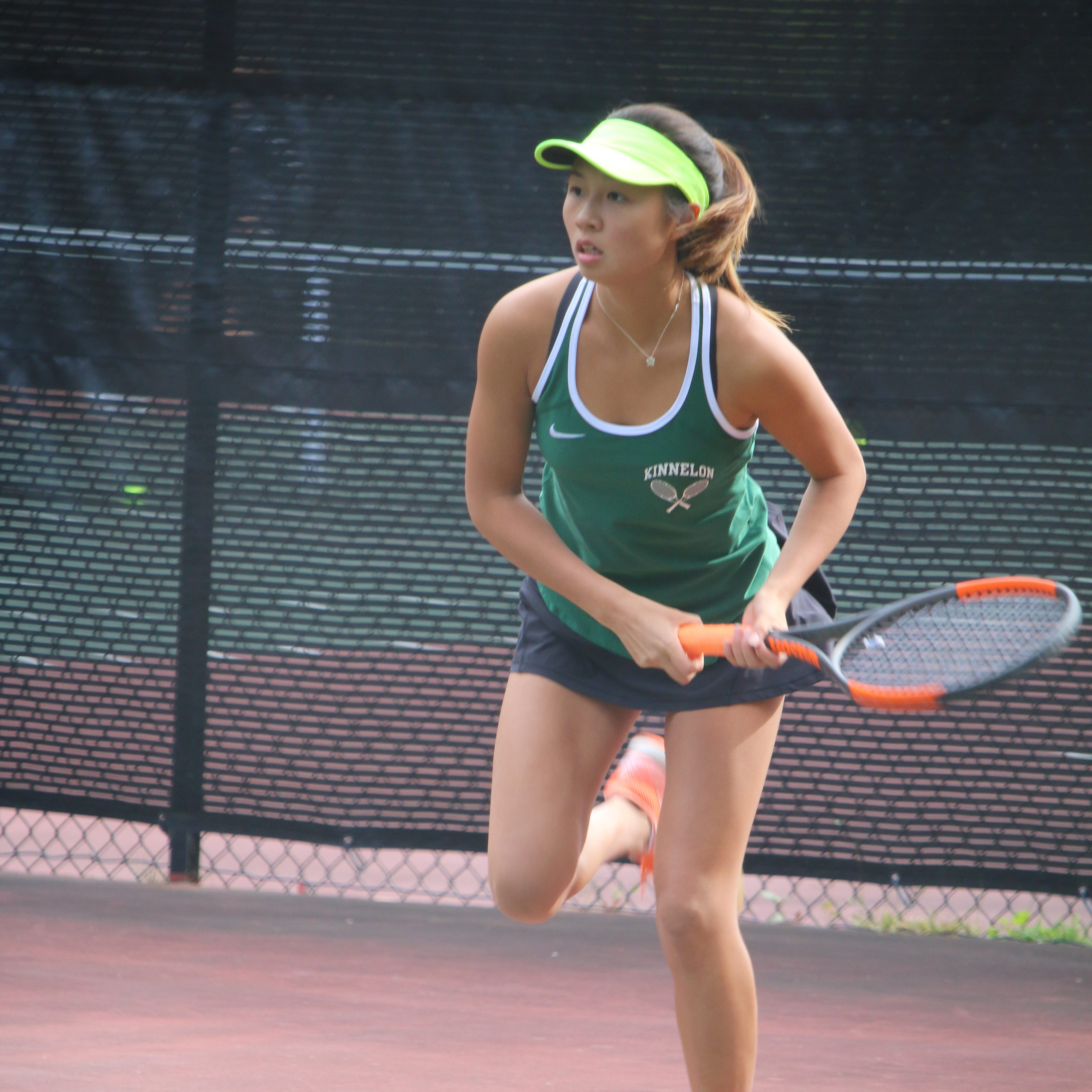 Kinnelon girls tennis holds off Glen Rock to claim third-straight title