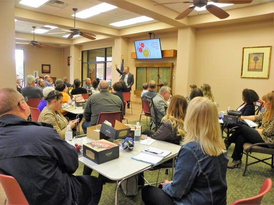 """The AAT is a consortium of area businesses, nonprofit organizations, civic groups, and residents interested in getting more people to """"live, work, play, and stay"""" in Alamogordo by branding the city as a mecca for outdoors adventure and nice people, Glover said."""