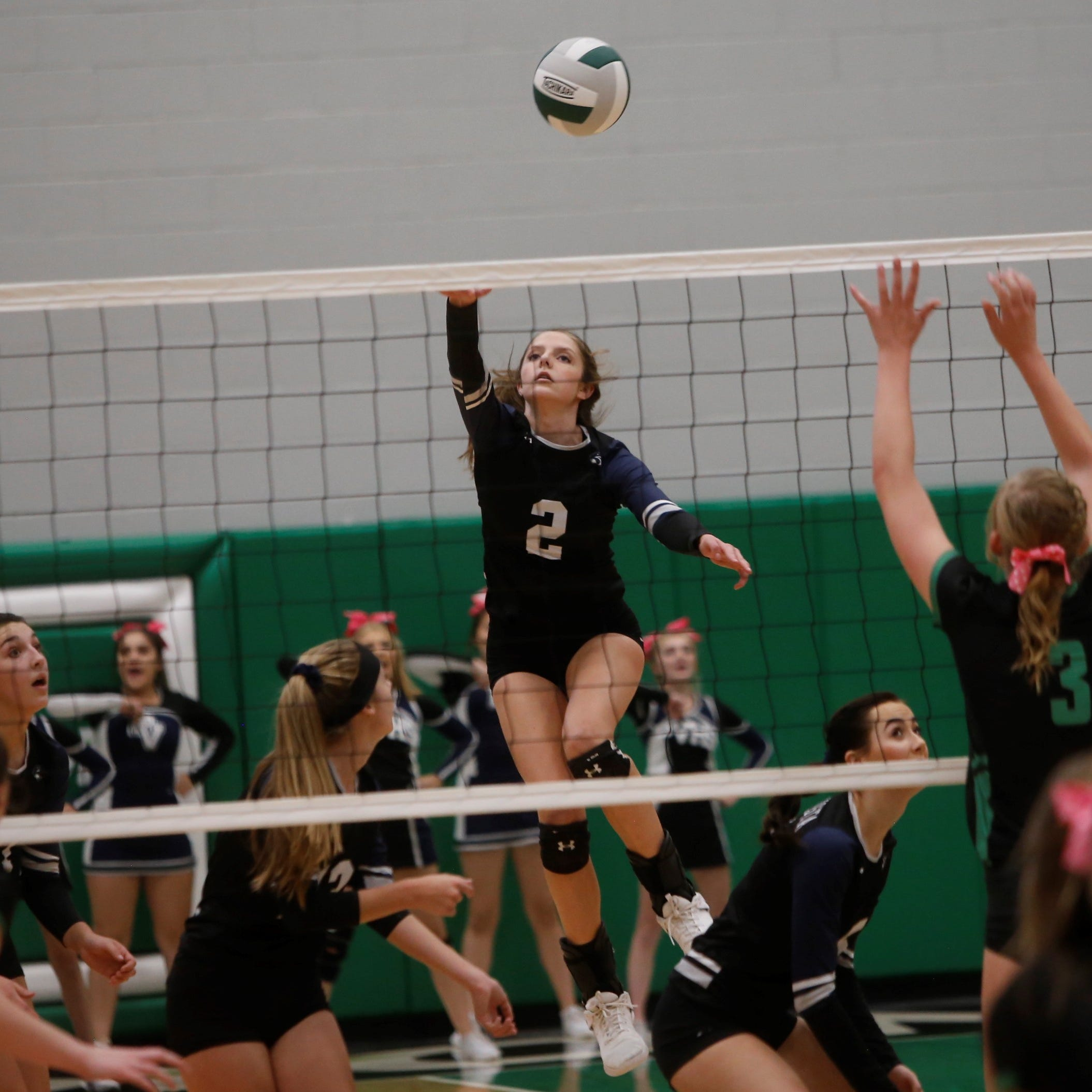 District volleyball standings, matches to watch