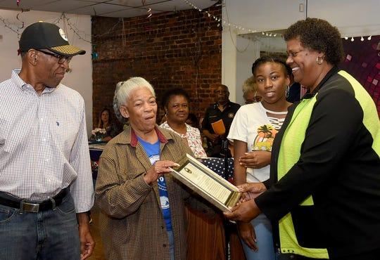 Melville residents attending the Melville Elderly Awareness Seminar and Harvest Celebration.