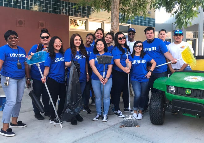 Cathedral City High School Students ready to take ACTION.