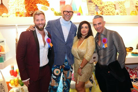 From left to right: Craig Ramsay, Jonathan Skow, Mercedes Javid and Brandon Liberati