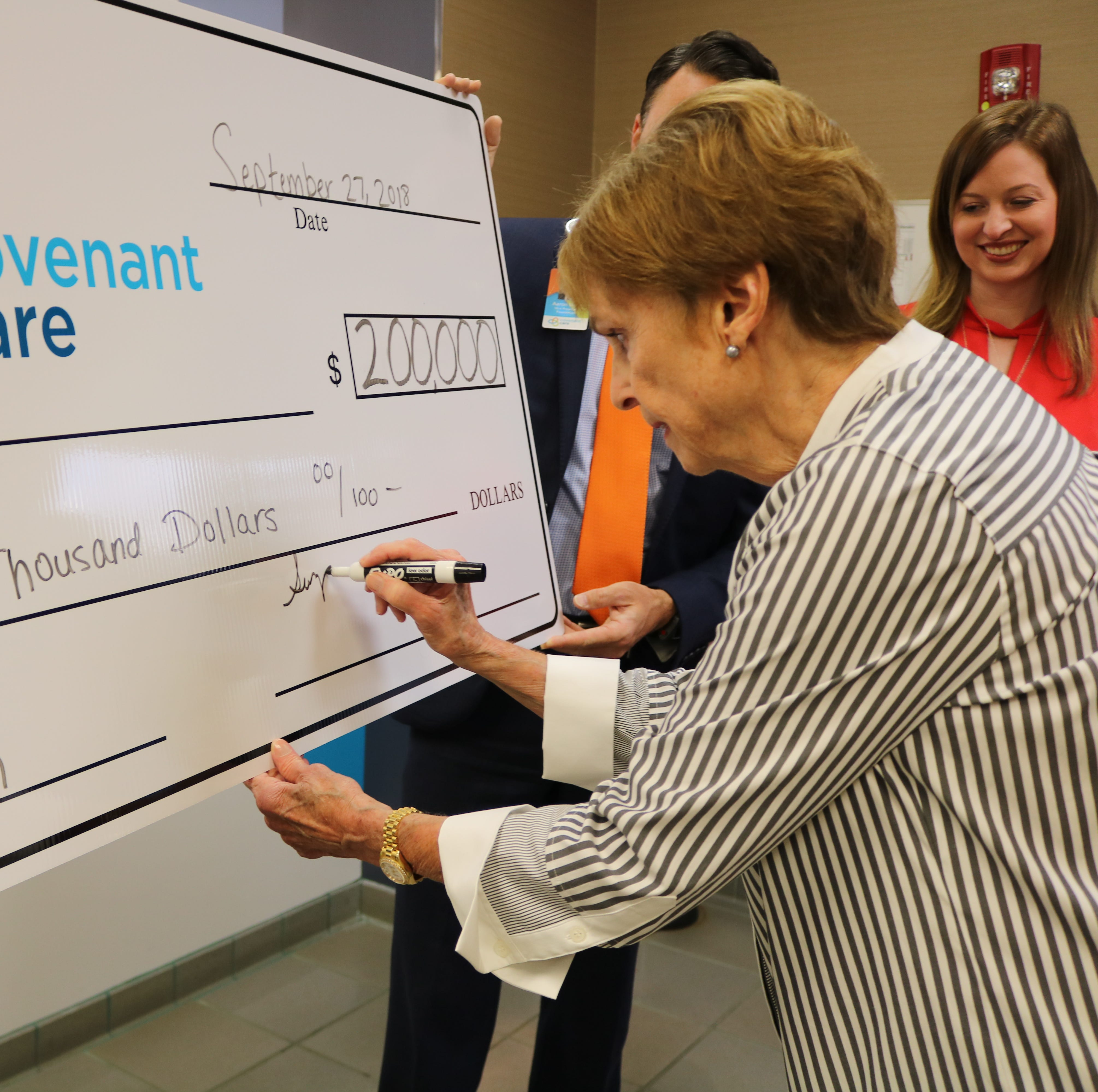 Covenant Care, UWF receive donations to fund My Wish endowment, STEM scholarships | Causes