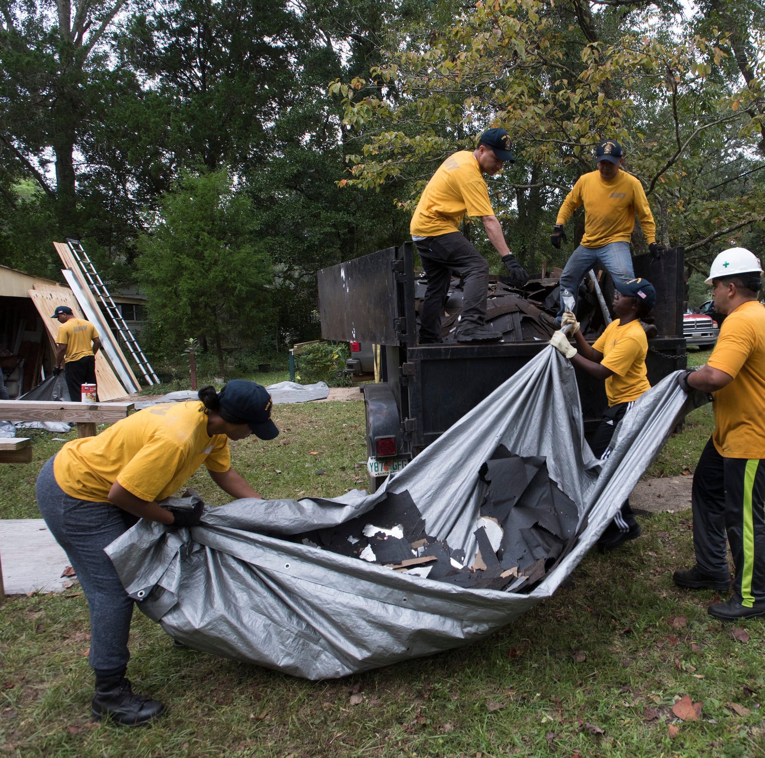 Volunteers repair home of beloved Pensacola veteran