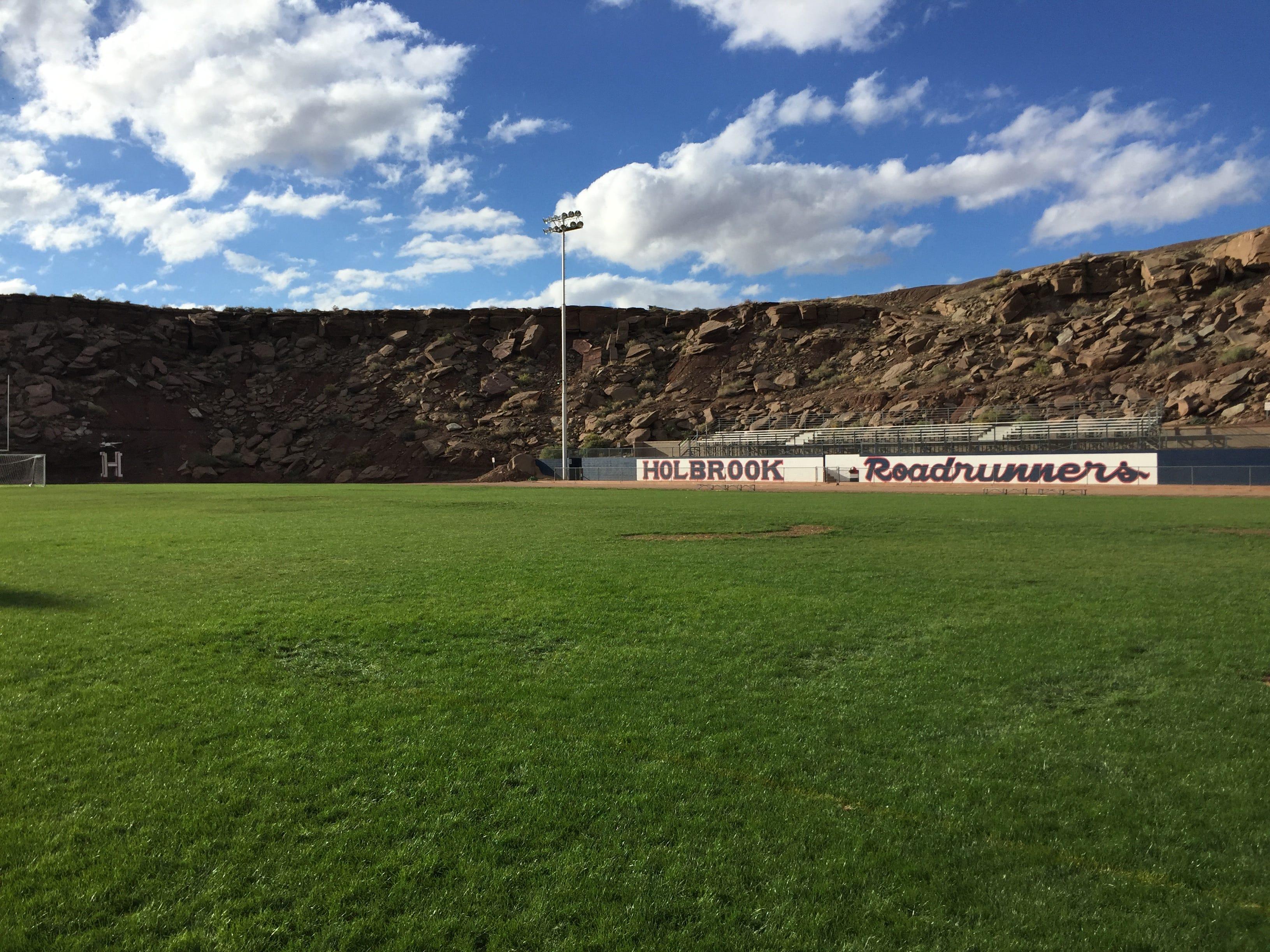 Holbrook High School's football stadium