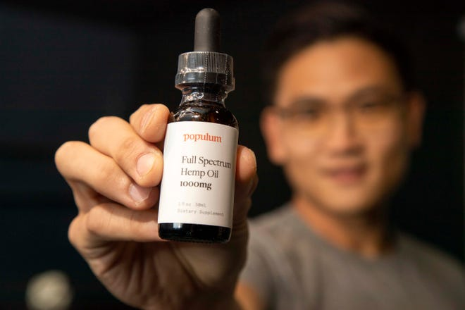 Gunhee Park, and ASU grad, is the founder of Populum, a Tempe-based company that produces hemp CBD oil, capitalizing on a wellness trend while trying to battle the misconception that hemp is the same as marijuana. Today, the 2-year-old company has nationwide distribution and is set to hit $1 million in revenue this year.