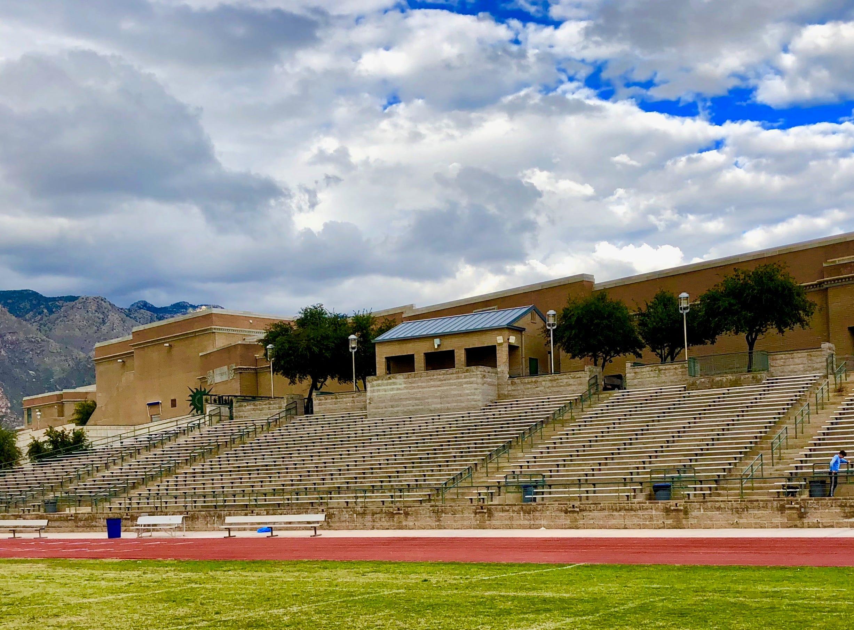 Tucson Catalina Foothills High School's football stadium.
