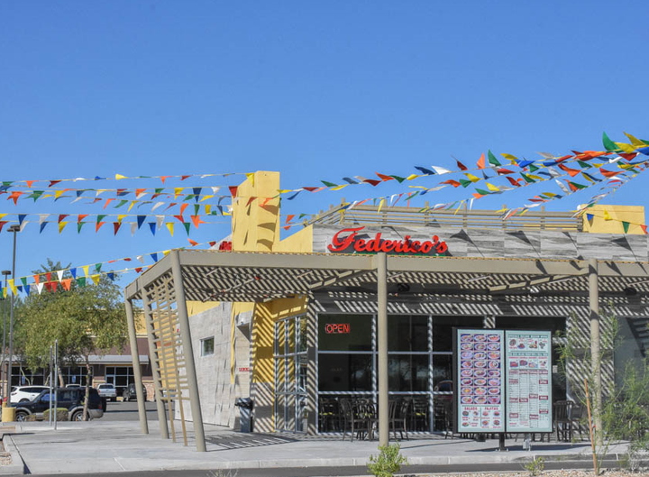The new Goodyear location of Federico's Mexican Food is celebrating its grand opening on Friday, Oct. 19.