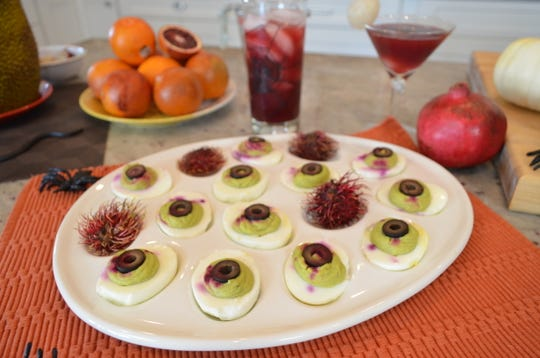Deviled Eyeball Eggs are among the gross-but-fun Halloween treats you can make.
