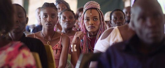 "Samantha Mugatsia and Sheila Munyiva in ""Rafiki,"" directed by Wanuri Kahiu."