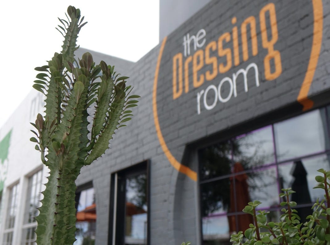 "The Dressing Room is a ""micro-restaurant"" located inside the MonOrchid art gallery on Roosevelt Row in downtown Phoenix."