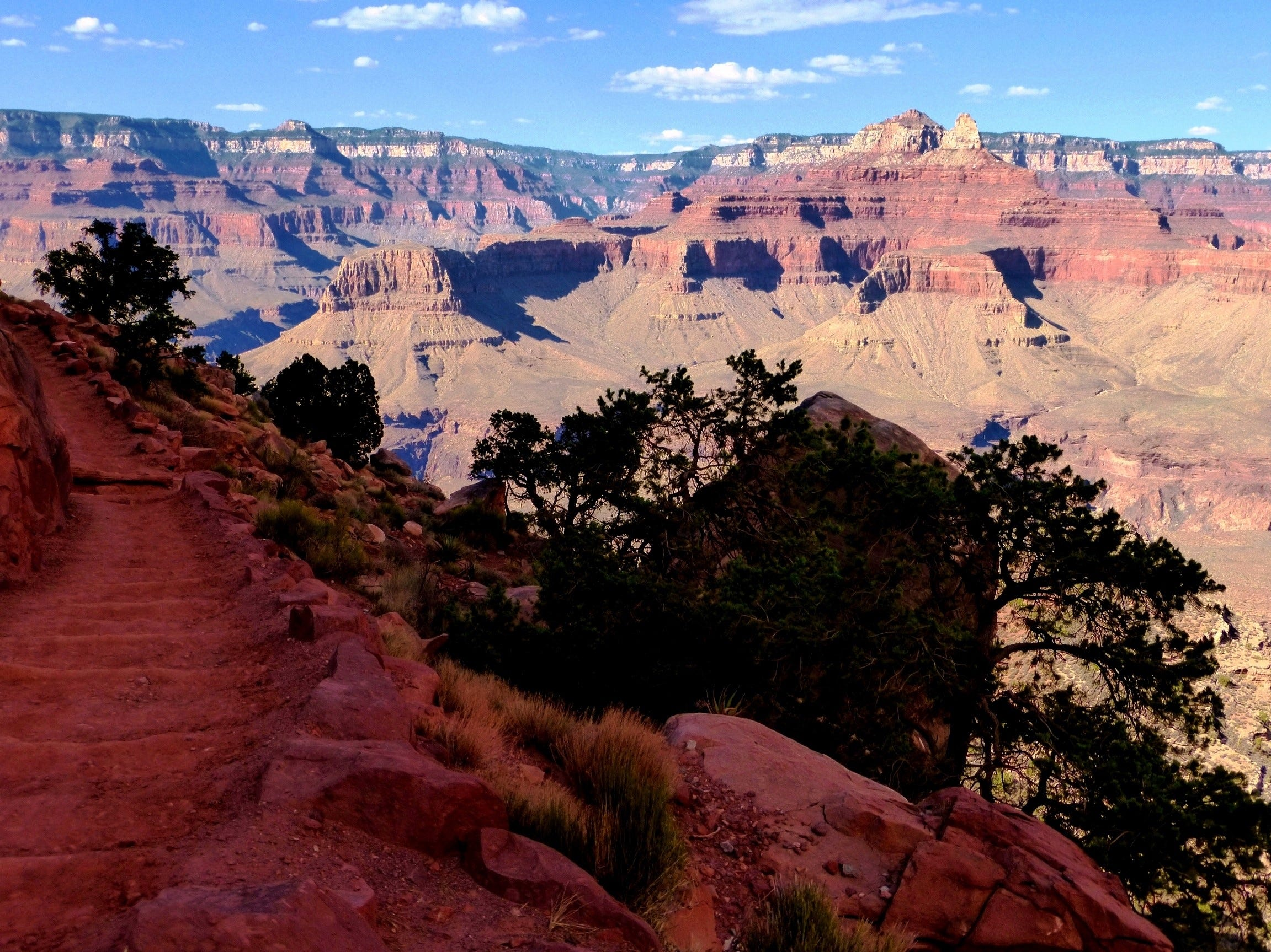 The Arizona Trail stretches from Mexico to Utah and highlights the diversity of the state including the Grand Canyon.