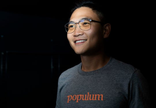 """""""With the experience of it benefiting myself and my family, I believed people would benefit as well and that this was a good opportunity,"""" said Gunhee Park, who started the Tempe-based Populum in 2016."""