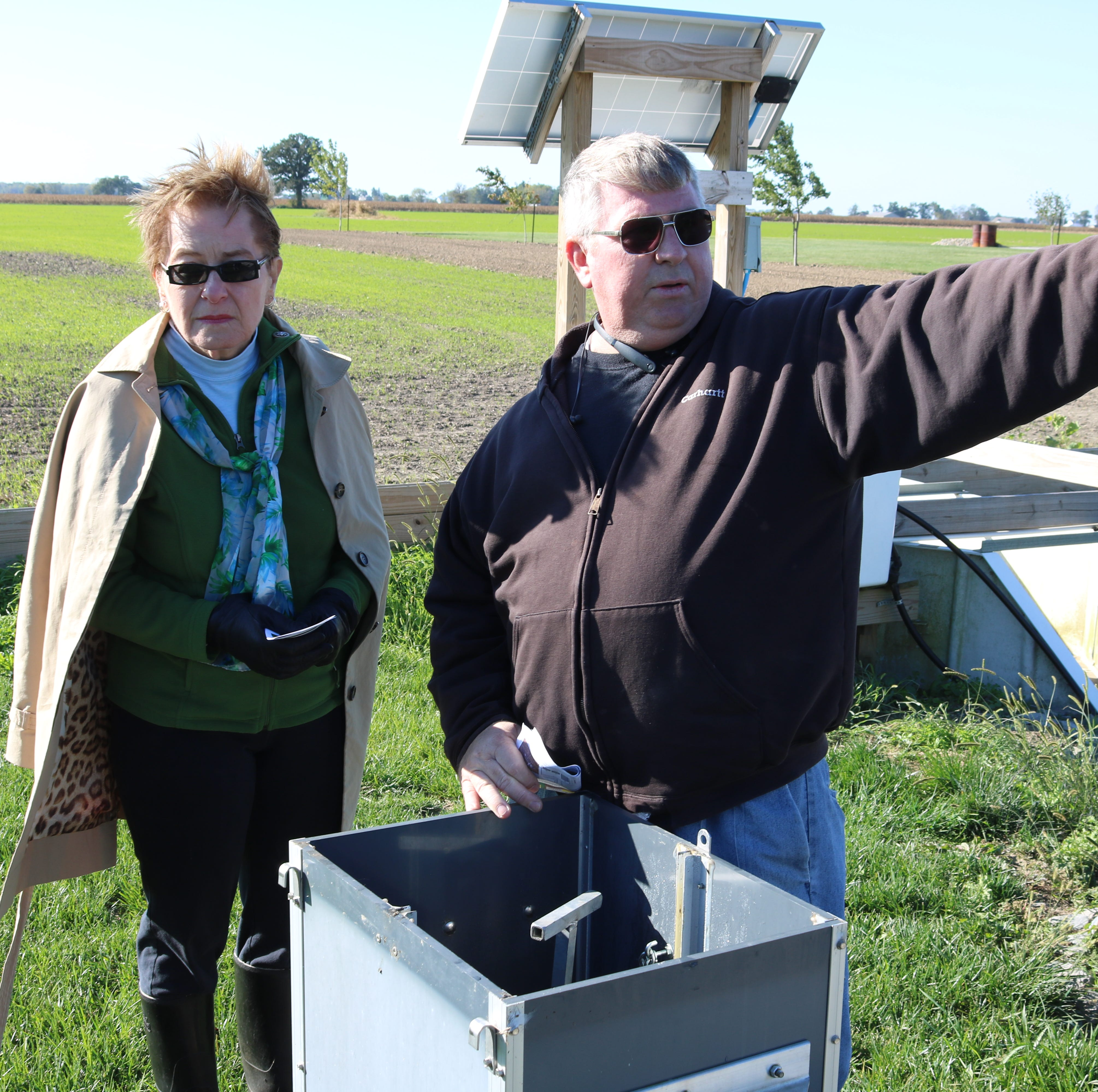 Kaptur visits demonstration farm addressing runoff pollution
