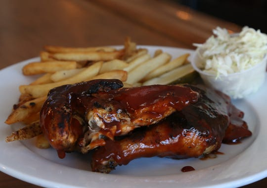 The barbecue chicken from Dutchess BBQ in the Town of Poughkeepsie on October 16, 2018.