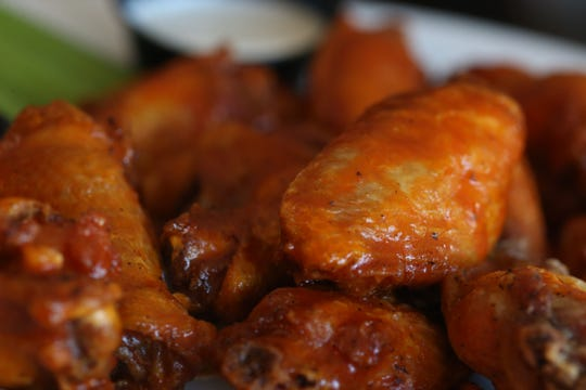 The Buffalo Wings from Dutchess BBQ in the Town of Poughkeepsie on October 16, 2018.