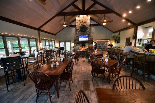 The Fireside Pub, pictured on Oct. 17, 2018, has an expanded menu and hosts a variety of events to draw people together.