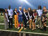 Traditionally, York High students would vote on homecoming king and queen. That changed this year, as the school crowned the boy and girl who raised the most money. The senior class raised more than $2,000.