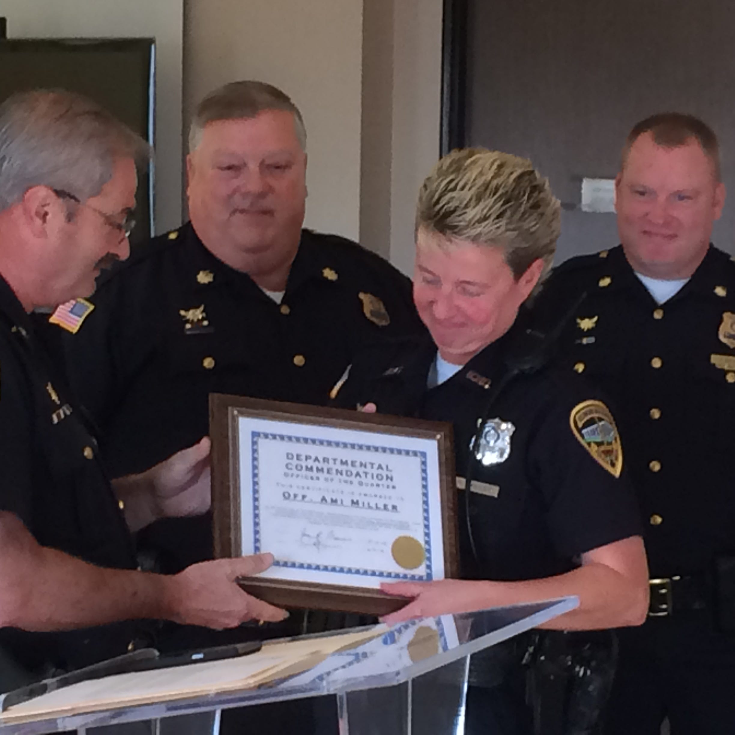 Repeated kindness and service result in RPD's officer of the quarter honor
