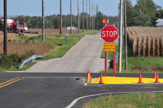 A four-way stop will be added soon to the intersection of Gaar Jackson and Round Barn roads on Richmond's far-northwest side.