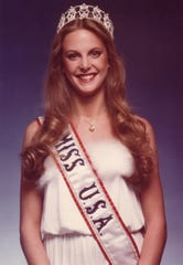 Mary Therese Friel as Miss USA in 1979