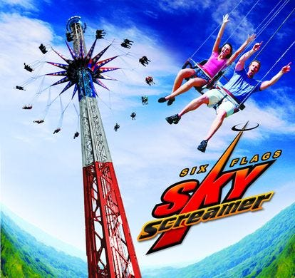 The SkyScreamer is coming to Darien Lake in 2019.