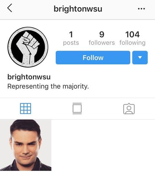 Brighton white student union