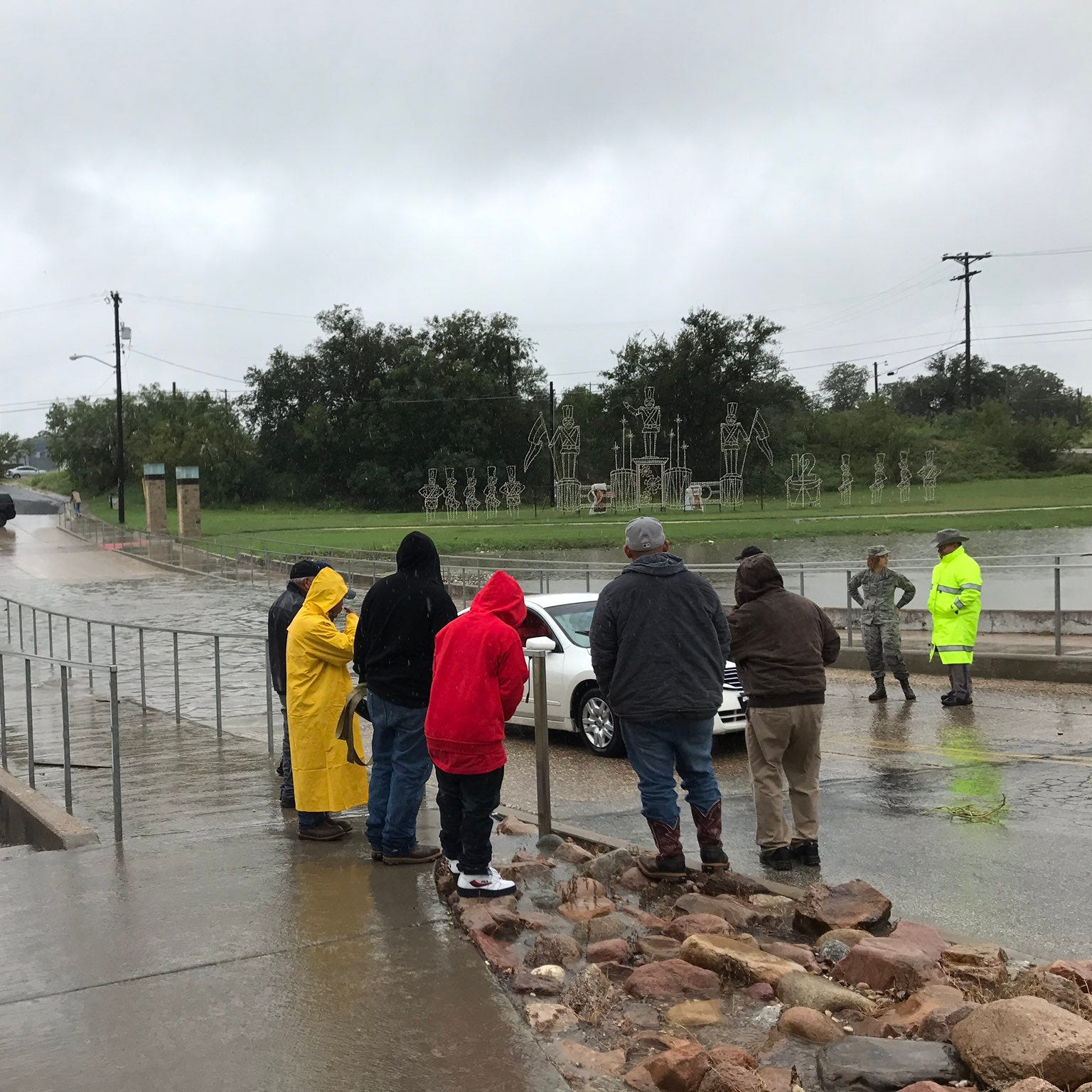 Driver rescued from rushing water in San Angelo; officials remind 'Turn around, don't drown'