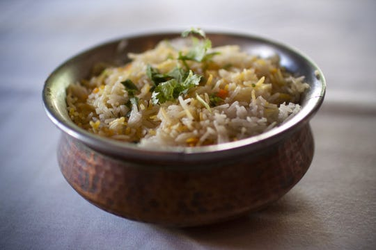 House rice at Saffron House in Dallas. The restaurant will cater India Night on Nov. 10 at LSUS.