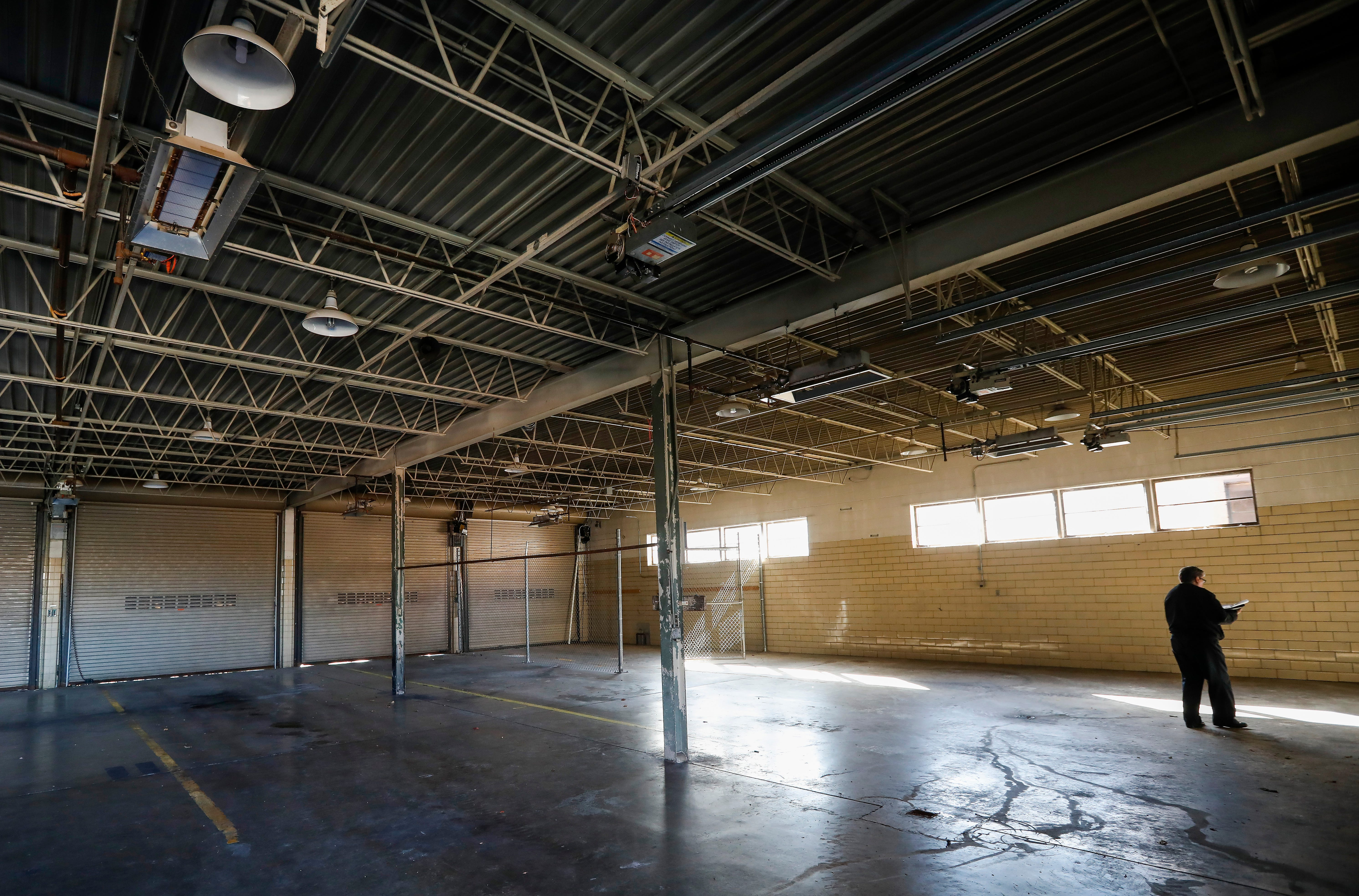 The garage of the old firehouse at the intersection of Kimbrough Avenue and Trafficway Street will be converted into the brewery and taproom at Hold Fast Brewing. The new brewery is expected to open in the summer of 2019.