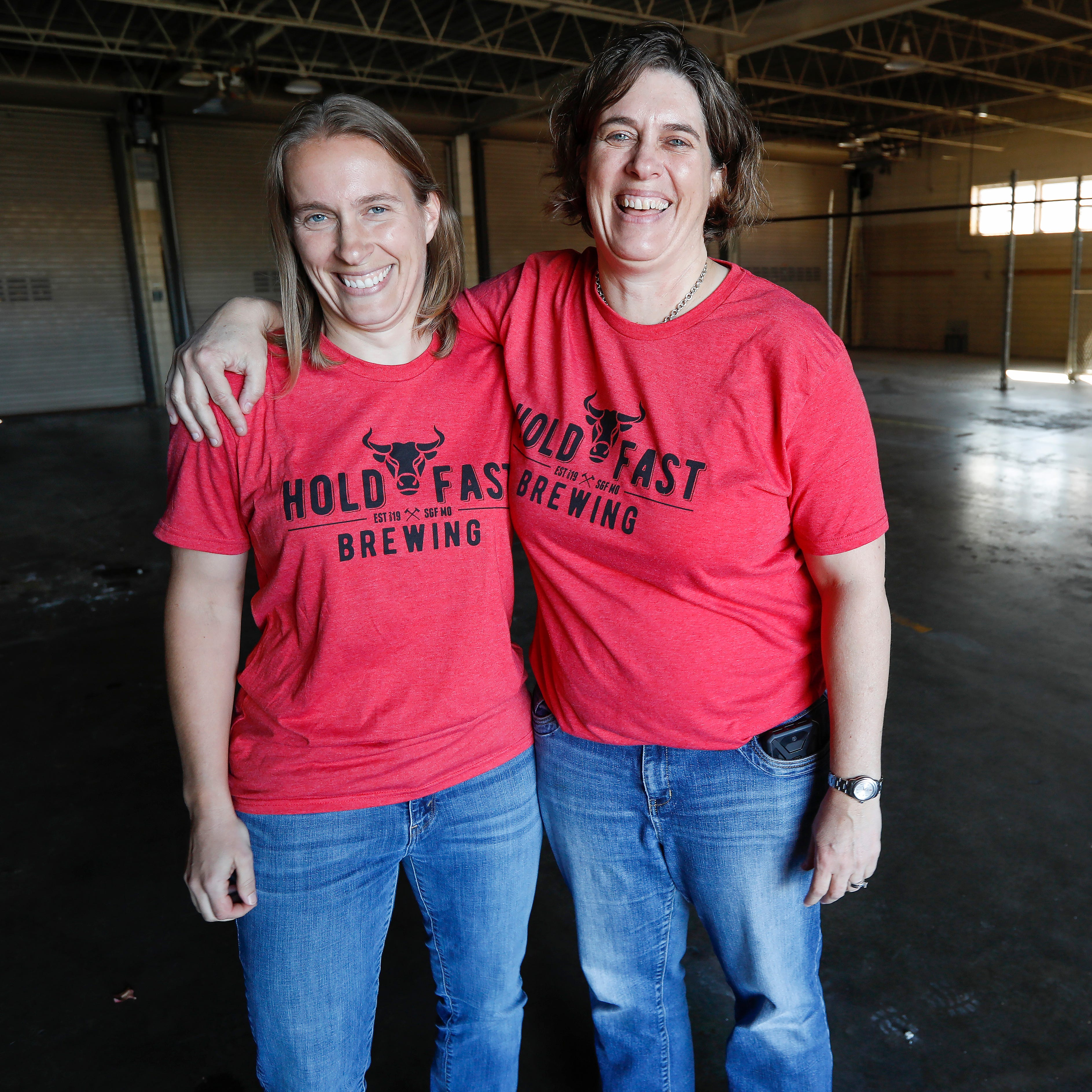 Sisters Susan, left and Carol McLeod hope to open Hold Fast Brewing in the summer of 2019. The new brewery will be located at the intersection of Kimbrough Avenue and Trafficway Street inside an old firehouse.