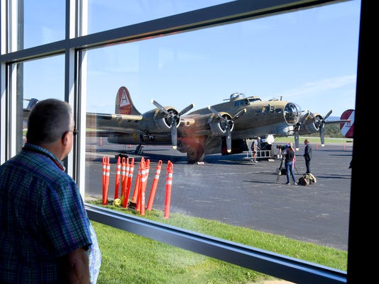 Bombers Arrive In Weyers Cave