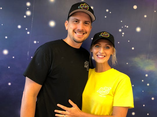 Ryan and Danae Huffer opened their doughnut shop called The Galactic Donut inside The Cheese Shop in Stuarts Draft. The Cheese Shop recently expanded its footprint, which allowed the Huffers to open up.