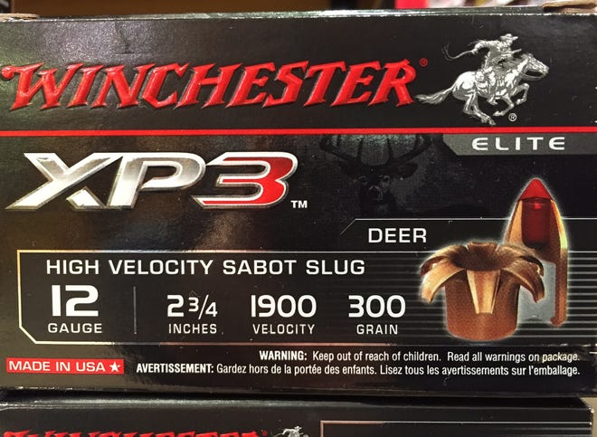The highly accurate sabot slug is a popular option with deer hunters.
